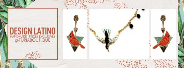 Découvrez la  sélection pointue de créateurs latino-américains de Furia Boutique !