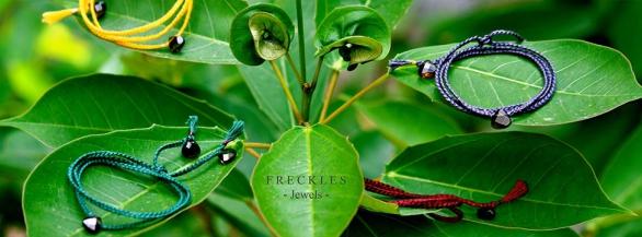 Freckles: des bijoux élégants et colorés !