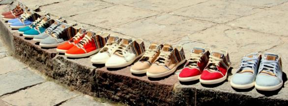 Partez à l'aventure avec Perús,  chaussures faites mains au Pérou,  le futur indispensable de ce printemps!!