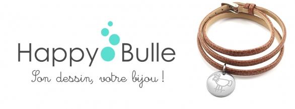 Immortalisez les œuvres de vos enfants sur des bijoux élégants avec HappyBulle !