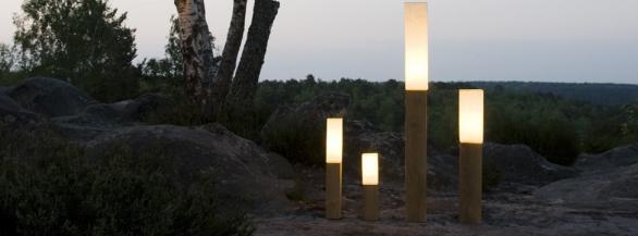 Quand le bois devient source de lumière !
