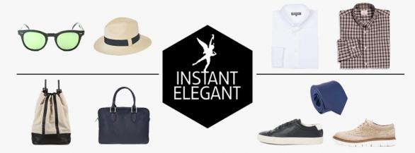 instantelegant.com, le department-store en ligne dédié aux hommes