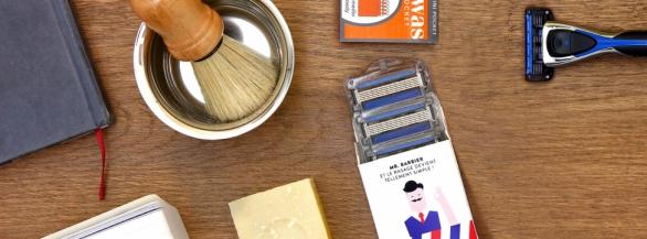 Monsieur Barbier : quand le rasage devient le moment cool de la journée !