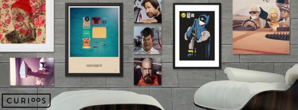 Les meilleurs artistes du numérique  chez vous avec Curioos