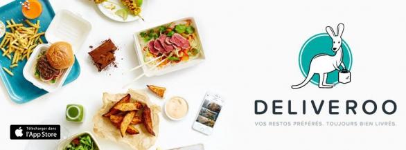 Deliveroo : vos restaurants préférés, toujours bien livrés !