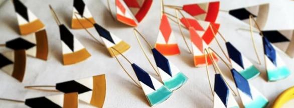 Little Woman : les bijoux en émail très colorés !