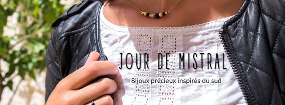 OFFRE 72H : Bijoux Jour de Mistral, la promesse d'un été sans fin