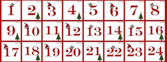 Le calendrier de l'avent Midipile !