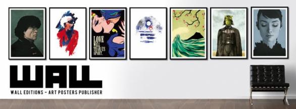 Wall Editions : l'éditeur spécialisé en affiches d'art pop & contemporain !