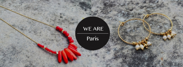 Découvrez des bijoux 100% made in France avec We Are Paris !
